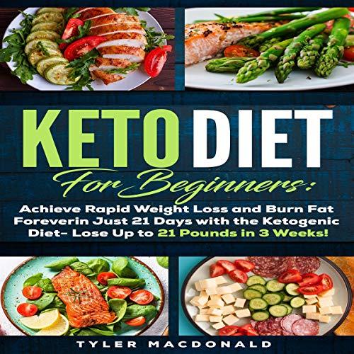 Keto Diet for Beginners audiobook cover art