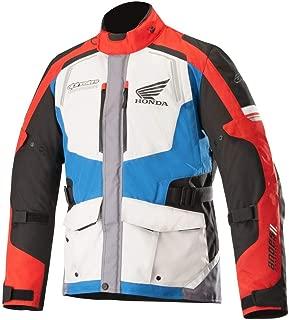 Alpinestars Honda Andres V2 Drystar Adventure Jacket-Gray/Blue/Red-2XL