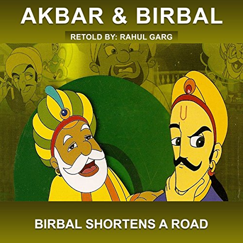 Birbal Shortens a Road audiobook cover art