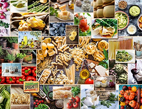 Ravensburger Puzzle 15016 - Food Collage - 2000 Teile