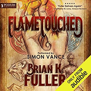 Flametouched audiobook cover art