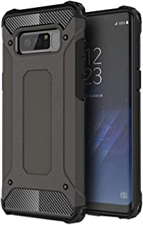 Phone Case Cover For Galaxy Note 8 Magic Armor TPU + PC Combination Case (Black) Smartphone Shell Cover (Color : Bronze)