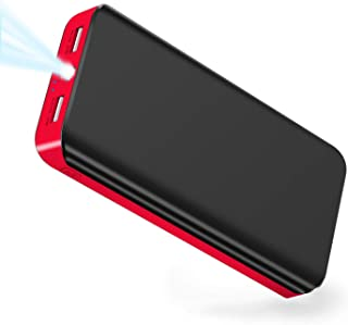 Power Bank 25000mAh LBell Portable Phone Charger External Battery High Capacity with Dual Output Port Emergency LED Flashlight Compatible for iPhone iPad Samsung Huawei Android Tablet PSP Camera