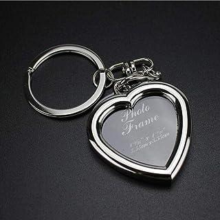 Kreative Retro Mini Metall Bilderrahmen Schlüsselanhänger Schlüsselanhänger