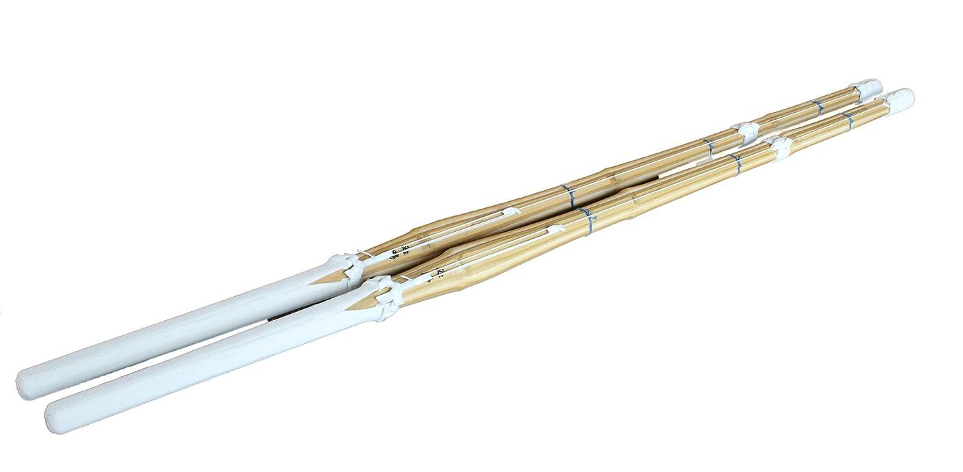漂流モジュールコミュニケーション竹刀 正八角型 吟柄風完成品2本1組セット 一般用