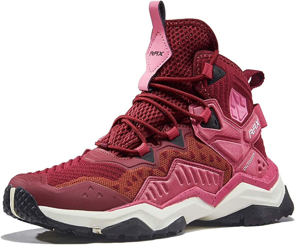 RAX Womens Outdoor Ventilation Hiking Boot Camping Backpacking Shoes Lightweight Sneaker