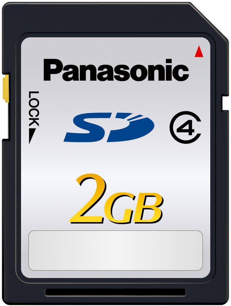 Panasonic 2GB SDHC Class 4 Memory Rare 20MB RP-SDL02GJ1K Card s Selling t