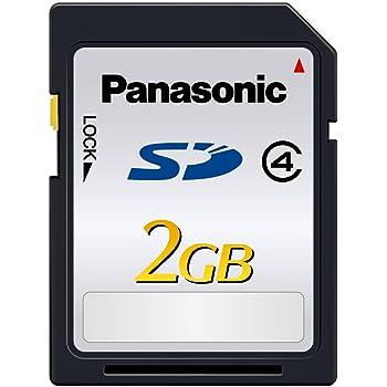 パナソニック 2GB SDメモリーカード CLASS4 RP-SDL02GJ1K