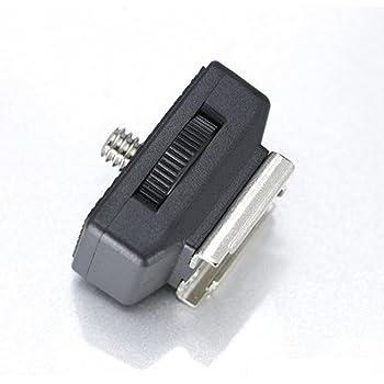 360°どの向きでも固定可能 /三脚ネジ(オス)ー>汎用型 コールドシュー 変換アダプター