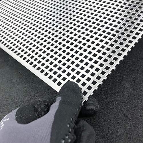 Lochblech1,5mm Edelstahl QG5-8 V2A K240 Zuschnitt individuell auf Maß NEU günstig (1000 mm x 250 mm)