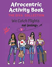 Afrocentric Activity Book The Diva Collection: Sudoku,Word Search, & Coloring Images with Positive Affirmations