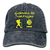 Gorra de béisbol para hombre y mujer Camino de Santiago Compostela Jeanet Gorra de béisbol ajustable Trucker Cap