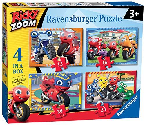 Ravensburger Ricky Zoom Puzzles für Kinder ab 3 Jahren (12, 16, 20, 24 Teile)