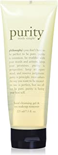 philosophy purity made simple cleansing gel for face and eyes, 7.5 oz