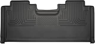 Husky Liners Black Weatherbeater 2nd Seat Floor Liner Fits 2015-19 Ford F-150 SuperCab, 2017-19 Ford F-250/F-350 SuperCab