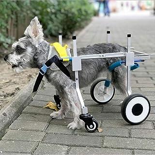 Silla de Ruedas para Perros PLDDY Bolsa de Mascotas Silla de Paseo para Mascotas Par/álisis de extremidades traseras para Mascotas Scooter de Ejercicio Rehabilitaci/ón de Mascotas para Perros y Gato