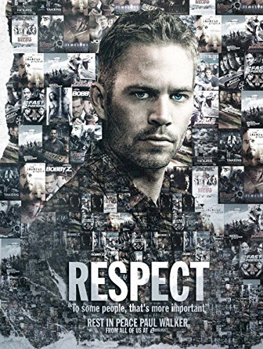 Memories of Paul Walker R.I.P Fast and Furious Hot Movie Posters