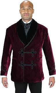 Men's Vintage Velvet Smoking Jacket