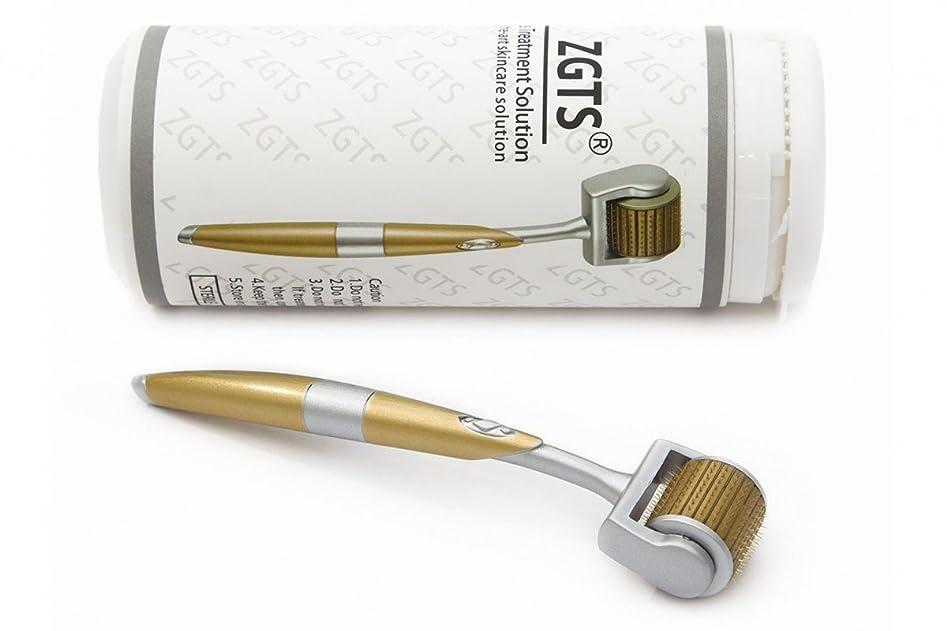 後悔中央パウダーTitanium Derma Roller With Micro Needles Skin Care Tool For Anti Aging (0.50mm)