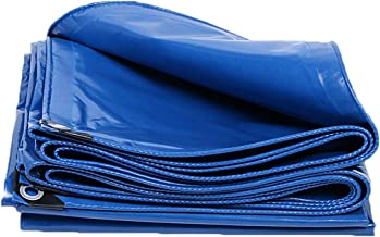 Dekzeil, dubbelzijdige waterdichte tentzeilen, zonwering, anti-uv-vloerbedekking, 0,4 mm dik, scheurbestendig doek, afdekz...