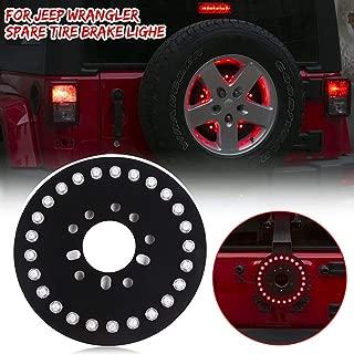 RT-TCZ for Jeep Wrangler Spare Tire Brake Light Rear Tail Light Third 3rd Brake Light for Jeep Wrangler JK JKU JL JLU Unlimited Rubicon Sahara X Sport 2 Door or 4 Door 2007-2020