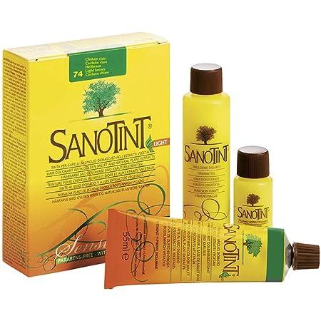 Sanotint Sanotint Sensitive 74 Castaño Claro - 400 g: Amazon ...