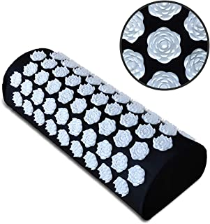 Benooa Acupressure Massage Pillow,Acupuncture Acupressure Pillow for Neck/Body Pain Treatment,Insomnia,Muscle Relaxation, Sciatica,Trigger Point Massage Therapy