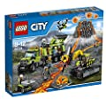 LEGO 60124 City Volcano Exploration Base Building Toy