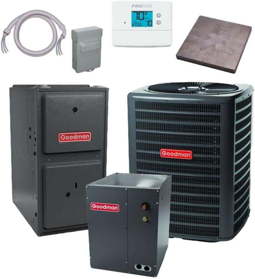Goodman Challenge the lowest price 2.5 TON 15 SEER Conditioner bundle CAPF31 Air Minneapolis Mall GSX160311