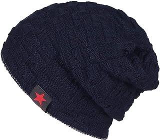 NewDay Trendy Beanie Hat Skull Cap for Men Women Oversized Winter Fleece Lined Warm