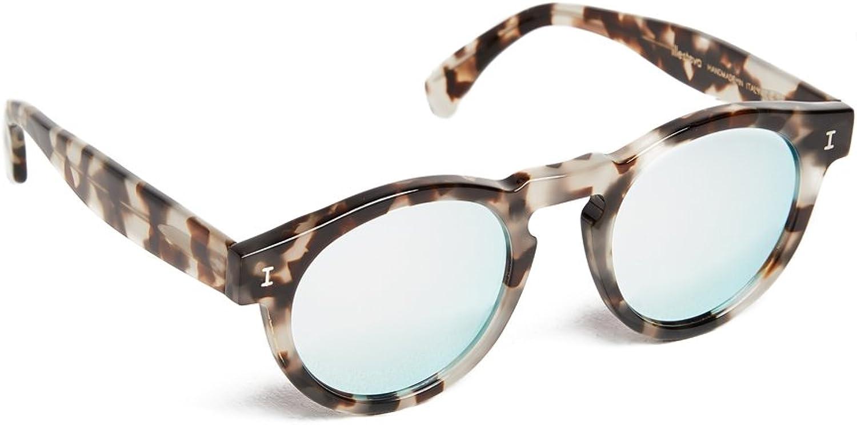 Illesteva Women's Leonard Mirrored Sunglasses