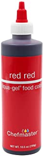 U.S. Cake Supply 10.5-Ounce Liqua-Gel Cake Food Coloring Red Red