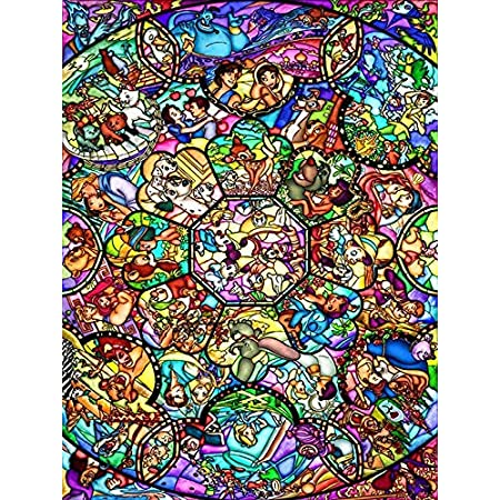 DIY Cartoon Character Diamond Painting Girl /& Witch Full Diamond Mosaic 5D Character Mosaic Home Decor