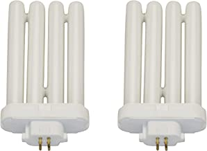 FML27 27 Watt 6500K Daylight Fluorescent Light Bulb - 4-pin, GX10q-4 Base - 2 Pack