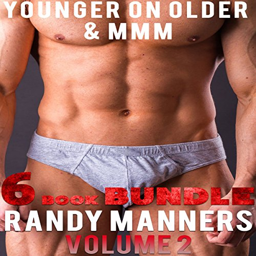Gay MMM & Younger on Older Man 6 Book Bundle, Volume 2 audiobook cover art