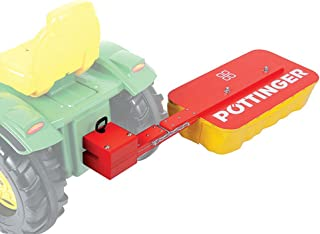 Pöttinger Mähwerk Heckmähwerk aus Holz für Rolly Toys Traktor