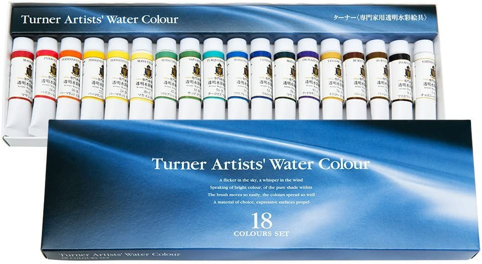 Turner Paint Set Professional Concentrated High Topics on New Orleans Mall TV Artists' Pigment