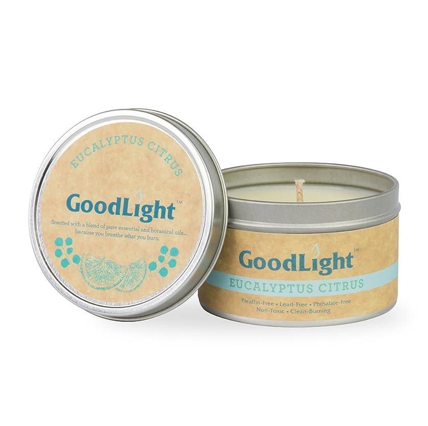 妖精王族開発するGoodLight paraffin-free香りつきTravel Tin Candles TT6-EUC