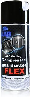 AABCOOLING Compressed Gas Duster FLEX 400ml - Air Comprimé Avec un Tube Flexible, Dépoussiérant, Bombe a Air Comprimé, Bom...