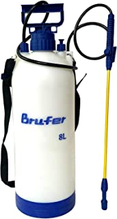BRUFER 72032 Srpayer for Lawns and Gardens or Cleaning Decks, Siding and Concrete - 2.1 Gallon (8L) with Pressure Release Valve