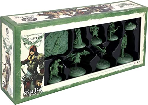 Guild Ball - The Falconer's Guild  Daughter of Falcons - English