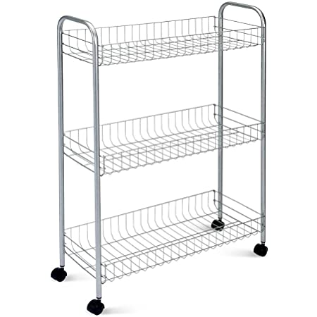 Metaltex Slim deluxe 34150339Chariot multi-usages 3 tages 56 x 23 x 84 cm Revtement Polytherm