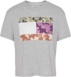 Tommy Jeans Camo Flag Tommy Short Sleeve T-Shirt