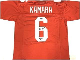Signed Alvin Kamara Jersey - Orange Custom