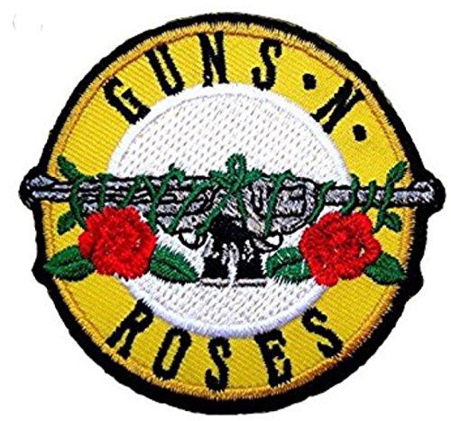 Marel - Parche termoadhesivo de la Banda de Rock Gun's'Roses (reproduc