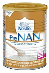 Nestle PRE NAN Low Birth Weight Infant Milk Formula 400g (for Premature Baby (Born Before 37 Weeks /