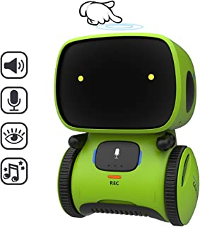 REMOKING STEM Educational Robot for Kids,Dance,Sing,Speak,Walk in Circle,Touch Sense,Voice Control, Learning Partners and ...