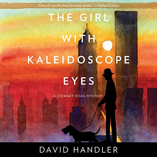 The Girl with Kaleidoscope Eyes audiobook cover art
