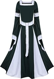 35293044aaa Joyplay Halloween Reine Robe Medievales Victoria Costume Manche Flare Adulte