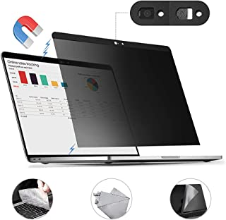 for MacBook Pro 15 inch Privacy Screen Protector Filter, Magnetic Installation, Webcam Cover, Touch The Mouse Protector, TPU Keyboard Cover, (for MacBook Pro 15 inch (2016~2019)